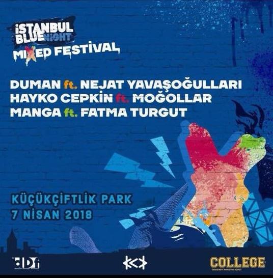 İstanbul Blue Night Mixed Festivali