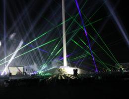 Bakü Bayrak Meydanı Açılış Gösterisi