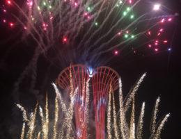 Expo 2016 Pyrotechnic Gösterileri