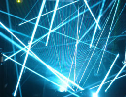 Laser Beam Show