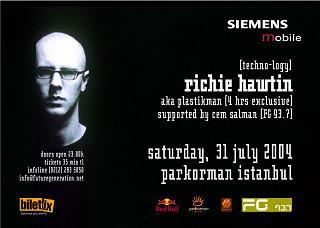 Richie Hawtin Konseri